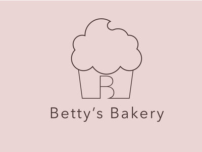 Day 18 of Daily Logo Challenge cupcake logo bettysbakery cupcake logotype branding icon dailylogo vector dailylogochallenge logo design