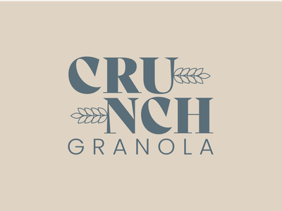 Day 21 of Daily Logo Challenge yumm crunch granola log grain logotype branding granola crop dailylogo icon dailylogochallenge logo design