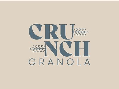 Day 21 of Daily Logo Challenge yumm crunch granola log grain logotype branding granola crop dailylogo icon dailylogochallenge logo design