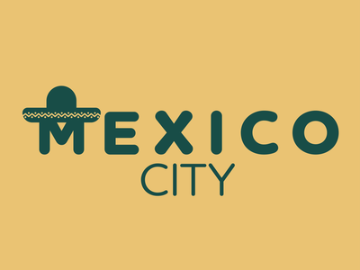 Day 22 of Daily Logo Challenge city logo city mexico city taco sombrero mexicocity mexico logotype branding dailylogo vector icon dailylogochallenge logo design