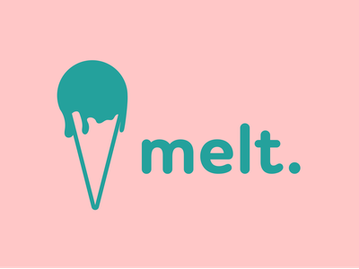 Day 28 of Daily Logo Challenge drip ice cream cone melt ice cream logotype branding dailylogo vector icon dailylogochallenge logo design