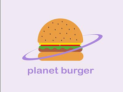 Day 33 of Daily Logo Challenge burger planet planet burger logo burger logotype branding dailylogo vector icon dailylogochallenge logo design