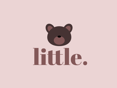 Day 46 of Daily Logo Challenge little cute bear baby clothes baby baby apparel branding dailylogo vector icon dailylogochallenge logo design
