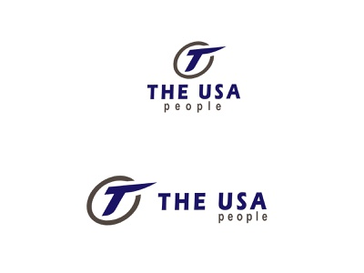 THE USA PEOPLE logo logo designer illustration logodesign logo branding design