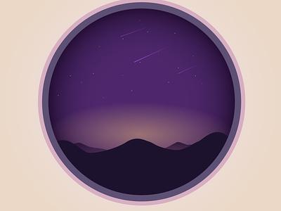 Good Night minimal stars artwork art beautiful vector illustration vector art vector design illustration illustrator