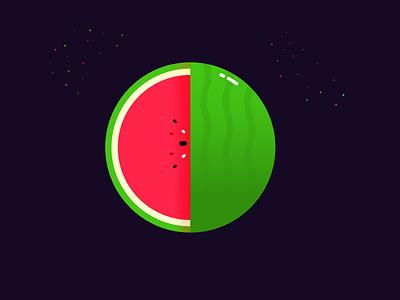 Watermelon food fruit artwork art beautiful vector illustration vector art vector design illustration illustrator
