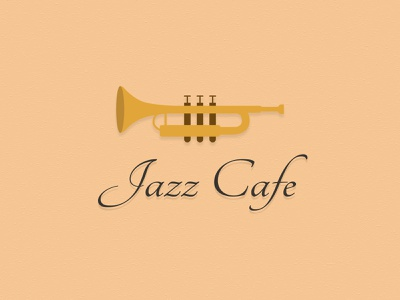 Jazz theme design 1 jazz theme identity theme trumpet jazz logotype design logo design icon logotype typography branding mark logo artwork vector design illustration