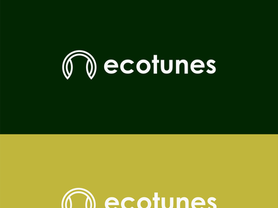 ecotune logo designing branding logo logo design