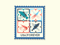 Praia Identity Stamp