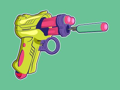 Nerf Gun Soccer-Themed Badge dart gun nerf gun nerf badge soccer badge