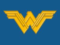 Wonder Woman Soccer-Themed Badge