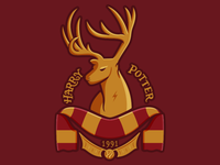 Harry Potter Soccer-Themed Badge