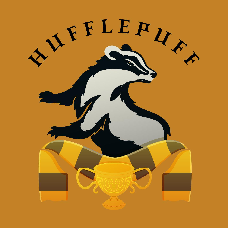 43 hufflepuff badge text