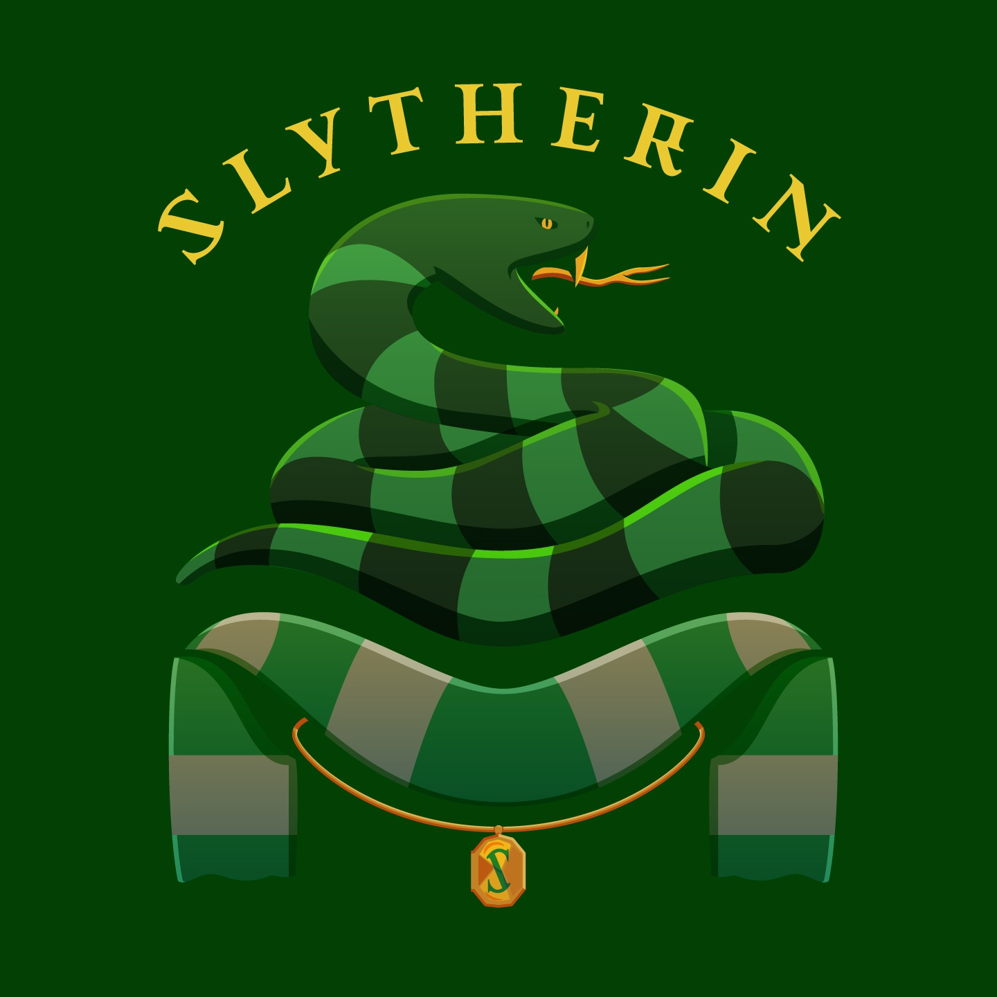 42 slytherin badge text