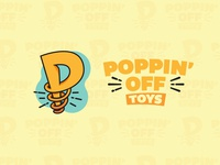 Poppin' Off Toys Full Logo