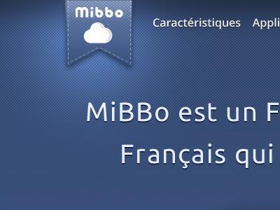Ribbon ribbon mibbo blue