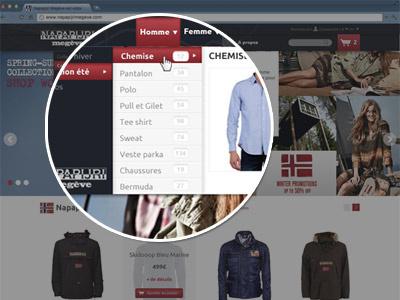 Big Menu menu big menu clothe eshop ecommerce bootstrap theme prestashop mountain