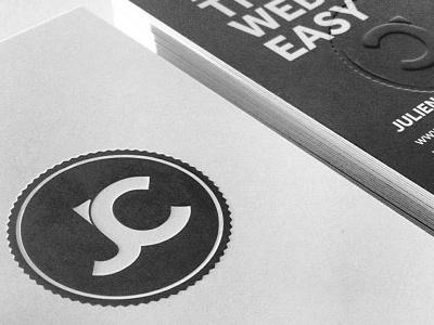 Jc Business Cards business cards cards branding identity design logo print