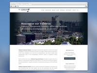 Valmeon home page screen