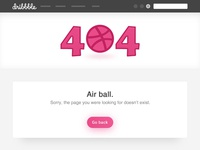 [DEBUTE] Daily UI #8 - 404 page