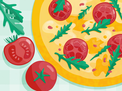 pizza pizza food vector art illustraion