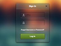 Matt Gentile's Sign In Widget as Functional HTML/CSS/JS