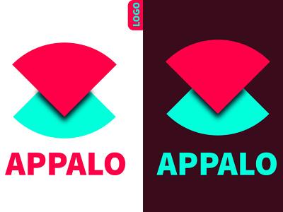 Appalo concept logo | Logo Design letter logo gradient logo branding design brand identity illustrator illustration logo design graphic design design branding a logo
