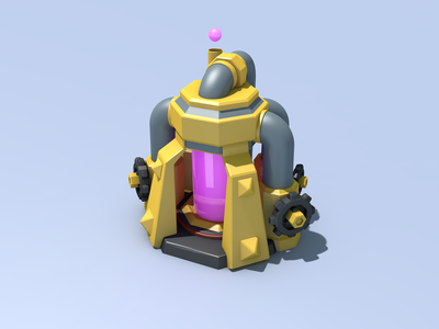 C4D-COC'S Elixir Collector