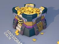 C4D-Gold storage