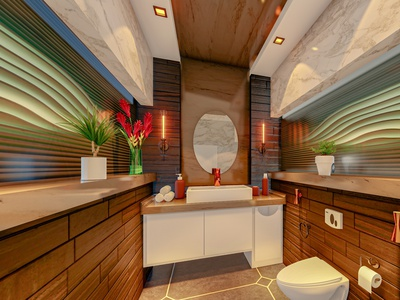 print 1   Photo bathroom exterior exterior design rendering render interior design interior design architecture