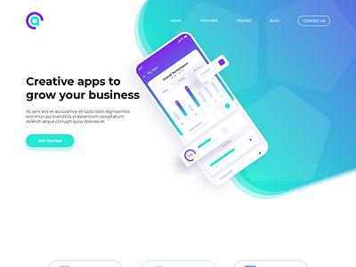 Practica CreativeApp-1 tecnologia marketing product design diseño ux diseño ui diseño gráfico diseño web