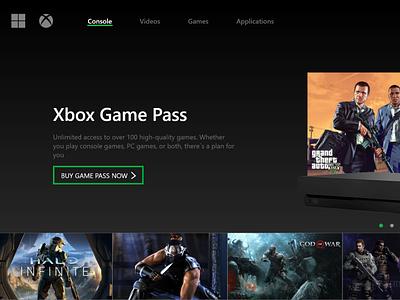 Practica Diseño UI Xbox tecnologia marketing product design diseño ux diseño ui diseño gráfico diseño web