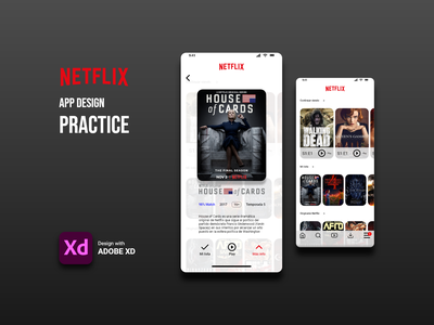 Practica diseño de app adobe xd tecnologia publicidad marketing product design diseño ux diseño ui diseño web diseño gráfico