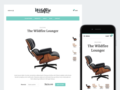 New Theme - Solo ecommerce store theme template furniture