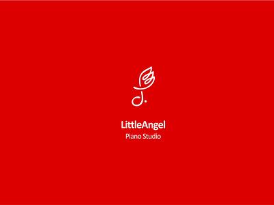 Little Angel Studio Brand Design illustrator minimal flat branding vector typography branddesign design illustration brand