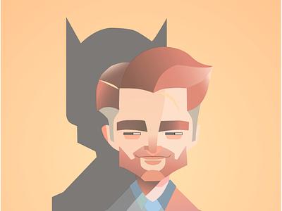 Batman ui design typography vector illustrator branding art logo graphic design animation