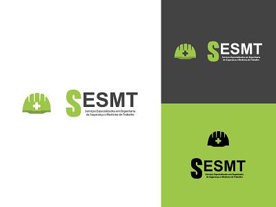 Identidade Visual - SESMT icon logo branding design web graphicdesign illustration