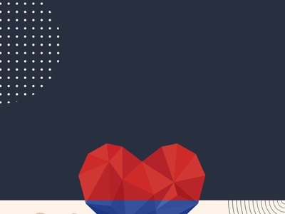 Ilustrações - Evento sobre Cardiopatia Congênita web illustration poster graphicdesign design