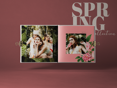 A Midsummer Night's Dream catalog editorial design look book catalogue catalog