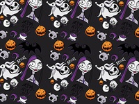Spooky nightmare pattern
