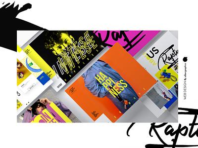 Rapture desk web design