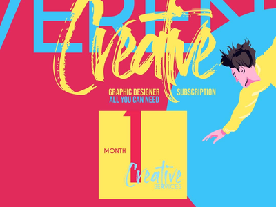 IrreverentCreative packs subscription studio vibrant colorful irreverent creative services graphic
