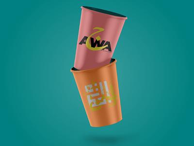 Mockup by ajwa design ajwa design glass logo mockup