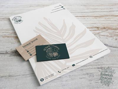 Branding Identity, Letterhead and Business Cards handmade hand drawn boho simple minimalist minimal graphic design illustration design typography business cards letterhead businesscard identity branding logo