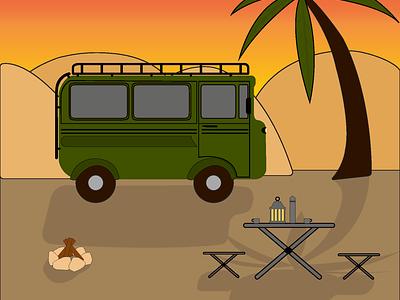 Safari ux design web vector illustration illustrator
