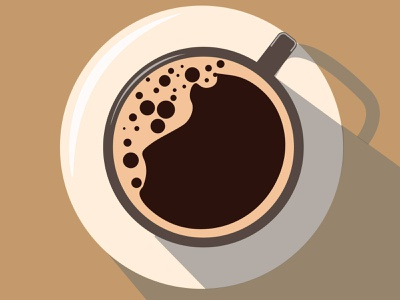 Coffee Cup Illustration design vector illustration