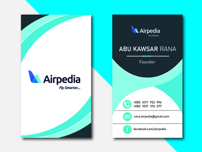 Business card branding vector design illustration business card visiting card