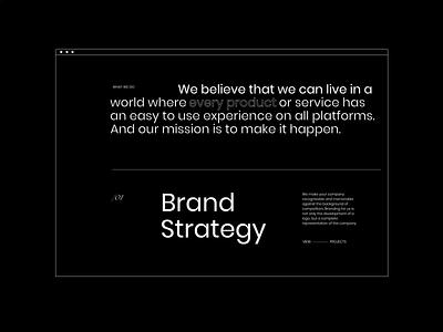 UPROCK — NEW WEBSITE. Services motion graphics animation minimal web ui design ux