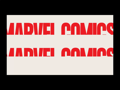 MARVEL — website 2020. Showreel animation minimal web ux design ui