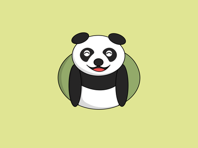 panda 01 mascot logo mascot character mascotlogo mascot design mascot illustration logo design